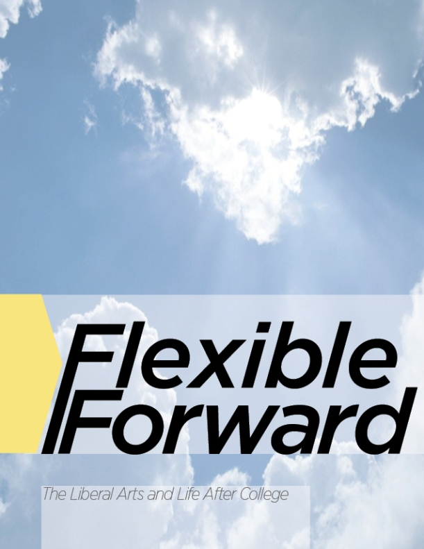 Cover of Flexible Forward informational booklet.